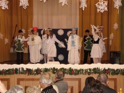 2011 Községi karácsony Csuka Mónikával